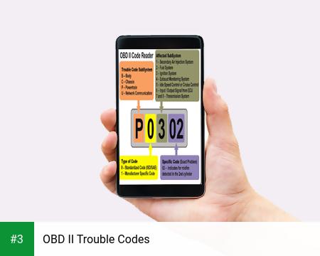 OBD II Trouble Codes app screenshot 3