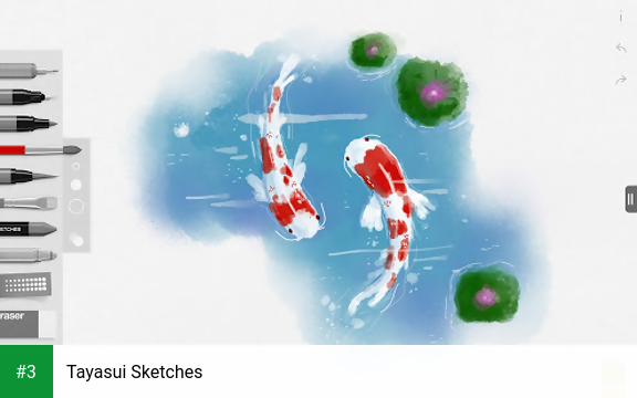 Tayasui Sketches app screenshot 3