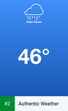 Authentic Weather apk screenshot 2