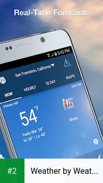 Weather by WeatherBug apk screenshot 2