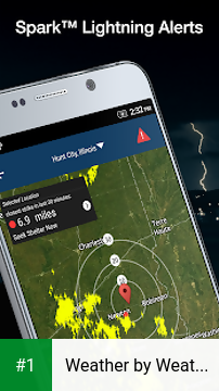 Weather by WeatherBug app screenshot 1