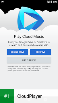 CloudPlayer app screenshot 1