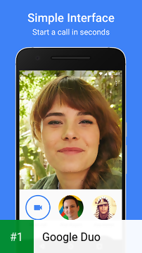 Google Duo app screenshot 1