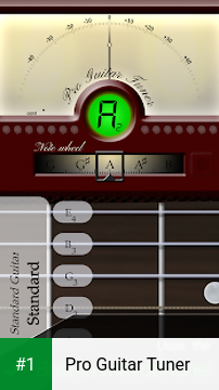 Pro Guitar Tuner app screenshot 1