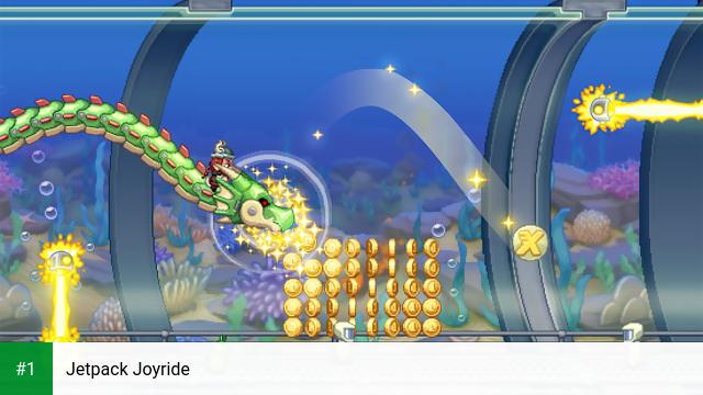 Jetpack Joyride app screenshot 1