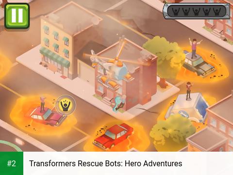 Transformers Rescue Bots: Hero Adventures apk screenshot 2