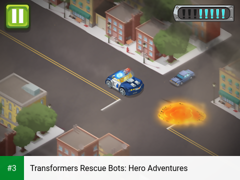 Transformers Rescue Bots: Hero Adventures app screenshot 3