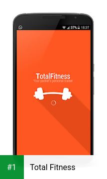 Total Fitness app screenshot 1