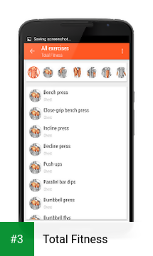 Total Fitness app screenshot 3