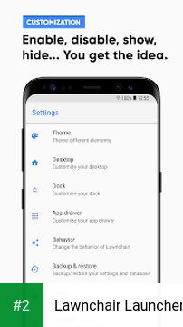 Lawnchair Launcher apk screenshot 2