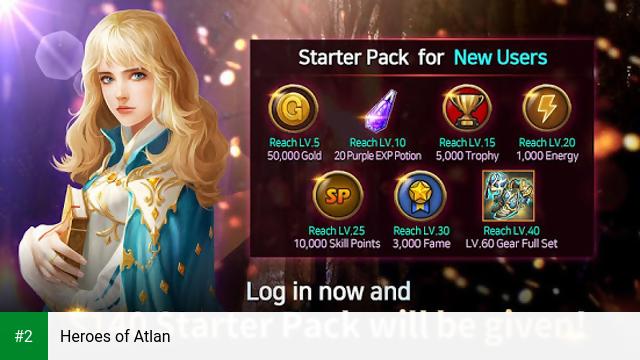 Heroes of Atlan apk screenshot 2