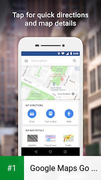 Google Maps Go - Directions, Traffic & Transit app screenshot 1