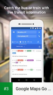 Google Maps Go - Directions, Traffic & Transit app screenshot 3