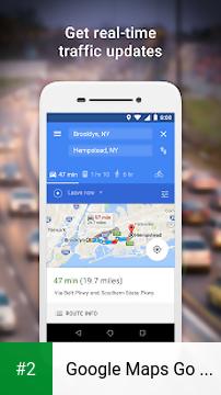 Google Maps Go - Directions, Traffic & Transit apk screenshot 2