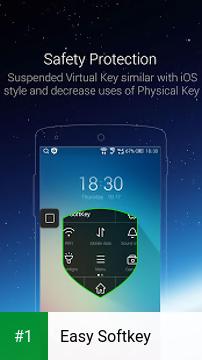Easy Softkey app screenshot 1