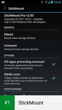 StickMount app screenshot 1