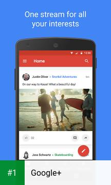 Google+ app screenshot 1