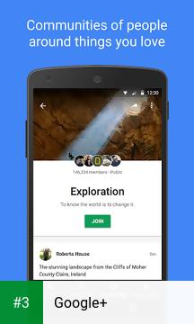 Google+ app screenshot 3