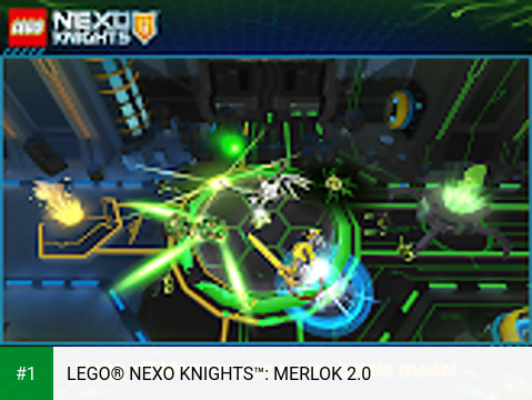 LEGO® NEXO KNIGHTS™: MERLOK 2.0 app screenshot 1