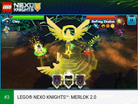 LEGO® NEXO KNIGHTS™: MERLOK 2.0 app screenshot 3
