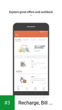 Recharge, Bill Payment, Wallet app screenshot 3
