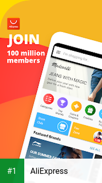 AliExpress app screenshot 1