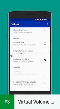 Virtual Volume Button app screenshot 3
