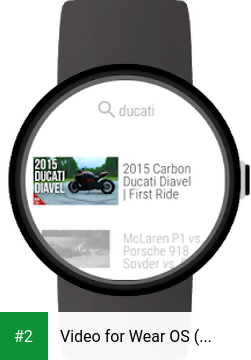 Video for Wear OS (Android Wear) & YouTube apk screenshot 2