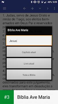 Bíblia Ave Maria app screenshot 3