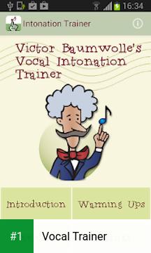 Vocal Trainer app screenshot 1
