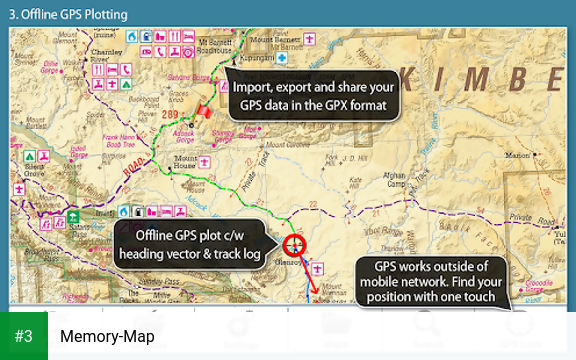 Memory-Map app screenshot 3