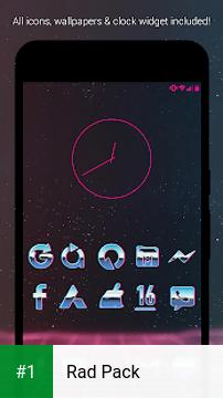 Rad Pack app screenshot 1