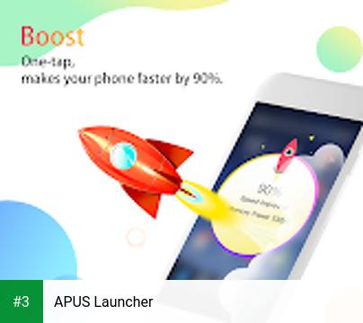 APUS Launcher app screenshot 3