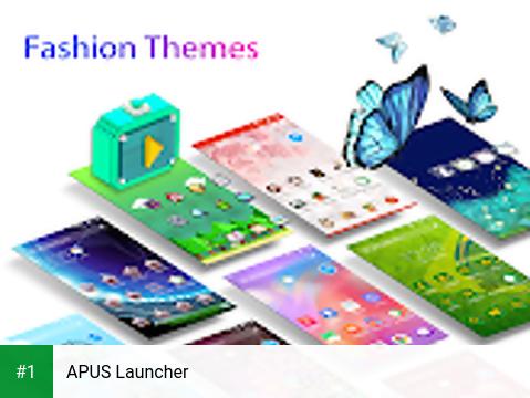 APUS Launcher app screenshot 1
