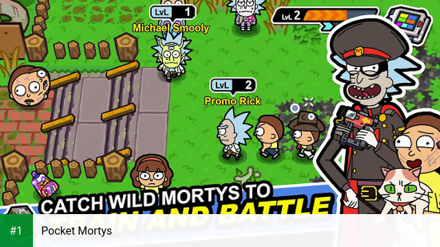 Pocket Mortys app screenshot 1
