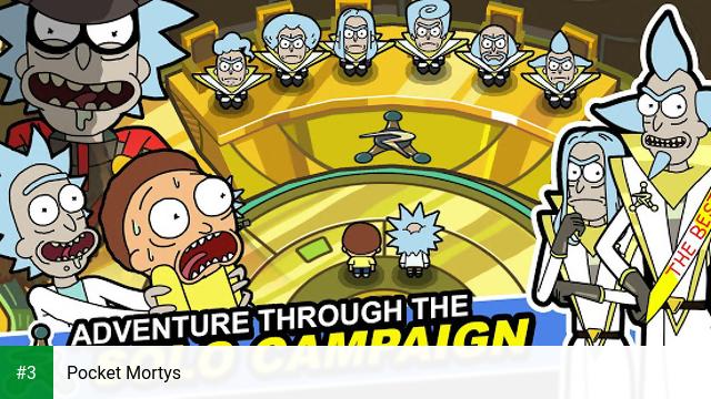 Pocket Mortys app screenshot 3