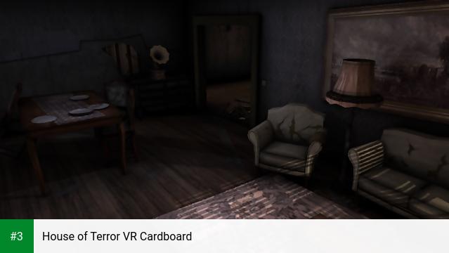 House of Terror VR Cardboard app screenshot 3