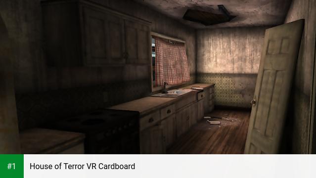 House of Terror VR Cardboard app screenshot 1