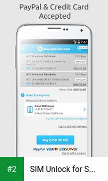 SIM Unlock for Samsung Galaxy apk screenshot 2