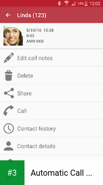 Automatic Call Recorder app screenshot 3
