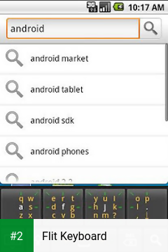 Flit Keyboard apk screenshot 2