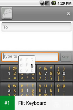 Flit Keyboard app screenshot 1