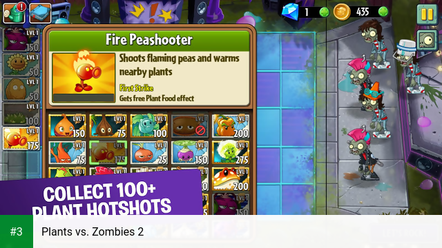 Plants vs. Zombies 2 app screenshot 3