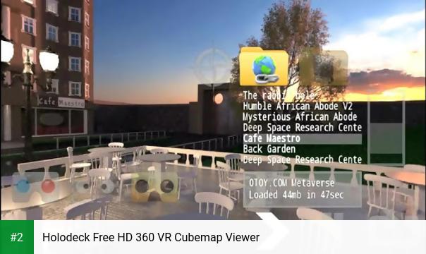 Holodeck Free HD 360 VR Cubemap Viewer apk screenshot 2