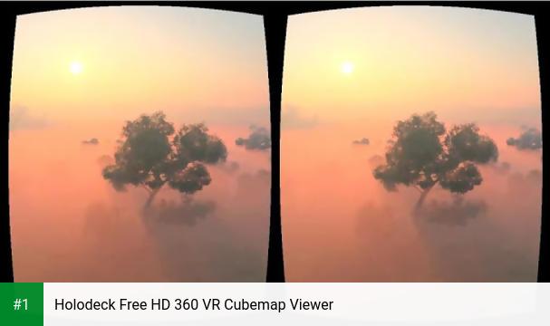 Holodeck Free HD 360 VR Cubemap Viewer app screenshot 1