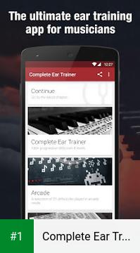 Complete Ear Trainer app screenshot 1