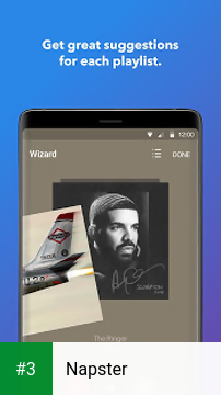 Napster app screenshot 3