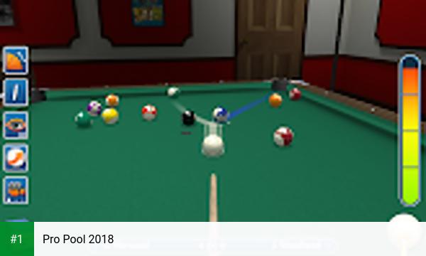 Pro Pool 2018 app screenshot 1