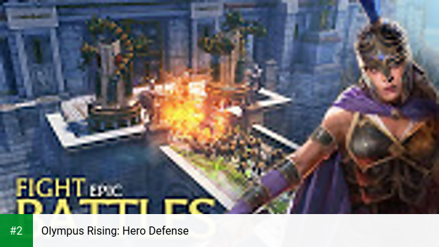 Olympus Rising: Hero Defense apk screenshot 2