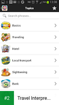 Travel Interpreter Select apk screenshot 2